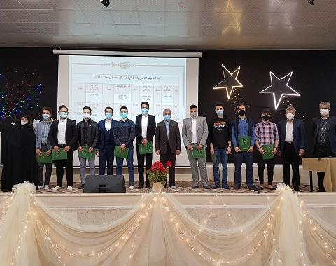 برگزاری مراسم جشن تقدیر از ستارگان دبیرستان